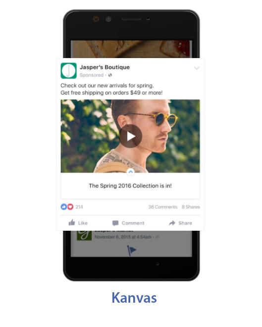 kanvas - Facebook Reklamları