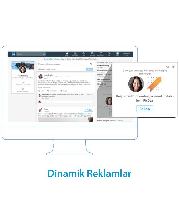 linkedin reklamlarinin sundugu avantajlar - Linkedin Reklamları