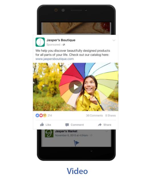 video - Facebook Reklamları