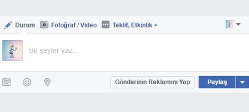 facebook durum guncellemesi paylasimi 1 - Facebook Paylaşım Çeşitleri